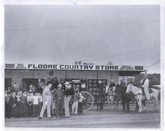 Floore's Country Store in 1942