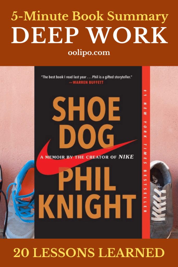 Shoe Dog Summary (5 Minutes): 20 Lessons Learned & PDF Download for Pinterest