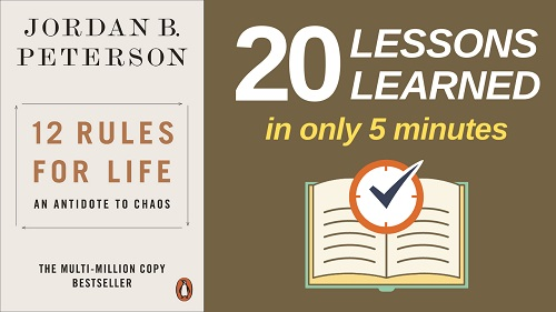 12 Rules for Life Summary (5 Minutes): 20 Lessons Learned & PDF