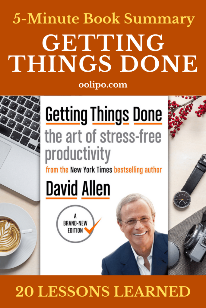 Getting Things Done Summary Pinterest