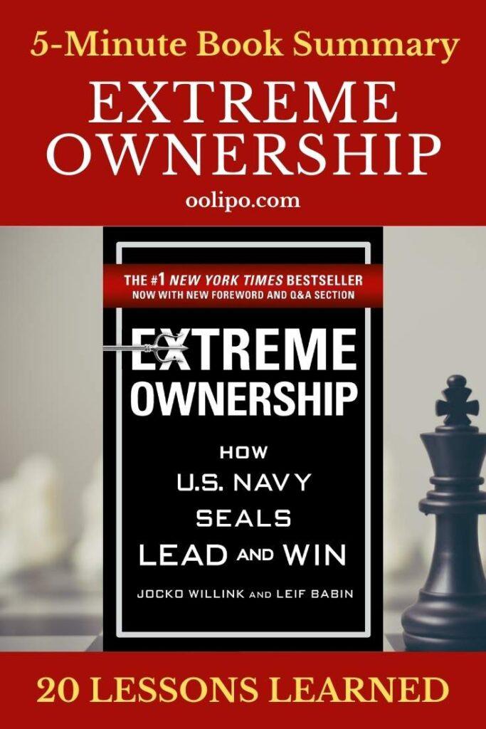 Extreme Ownership Summary for Pinterest