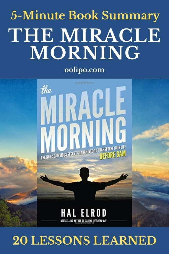 The Miracle Morning Summary PDF for Pinterest