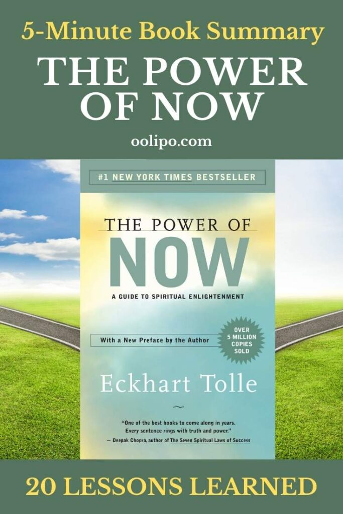 The Power of Now PDF Summary for Pinterest