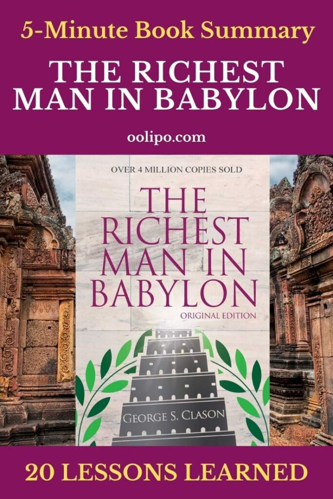 The Richest Man in Babylon Summary and PDF Download