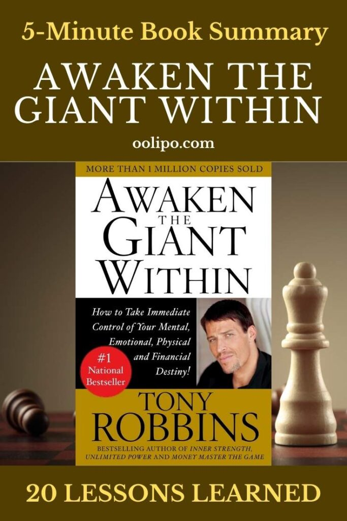Awaken the Giant Within Summary and PDF for Pinterest