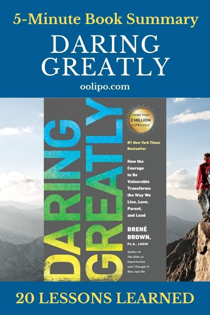 Daring Greatly Book Summary and PDF for Pinterest
