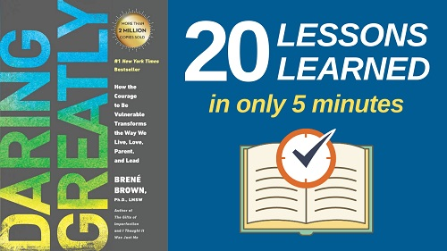 Daring Greatly Summary (5 Minutes): 20 Lessons Learned & PDF file