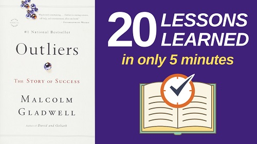 Outliers Summary with 20 Lessons Learned & PDF file