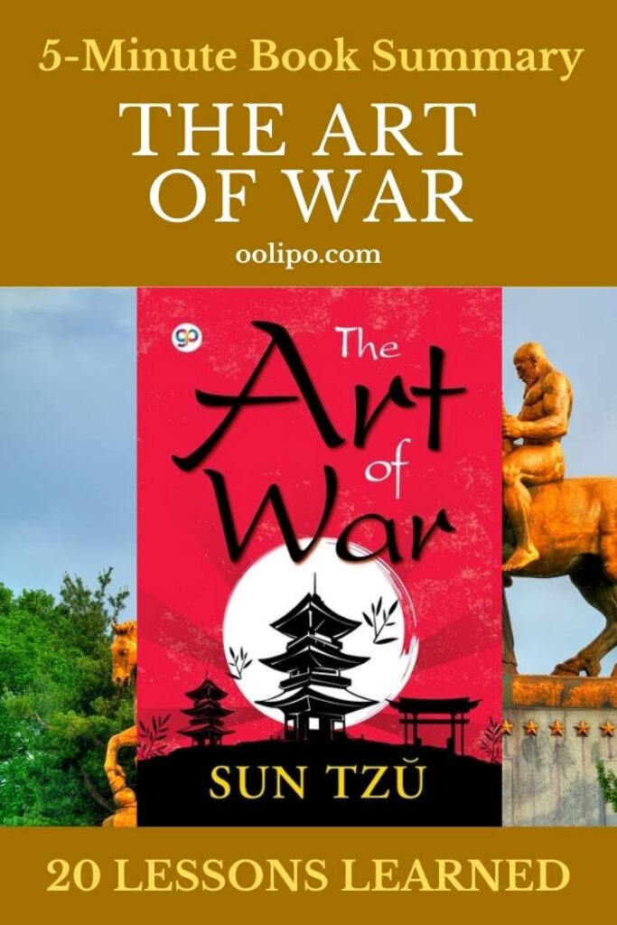 The Art of War Summary with 20 Lessons Learned & PDF file
