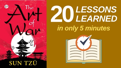 The Art of War Summary (5 Minutes): 20 Lessons Learned & PDF file