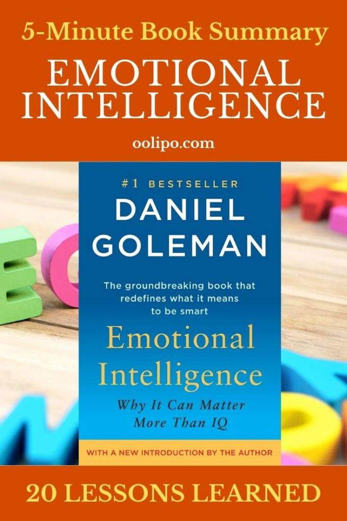 Emotional Intelligence Summary with PDF for Pinterest