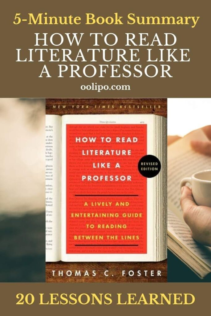 How to Read Literature Like a Professor with PDF for Pinterest