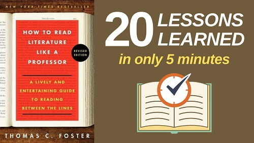 How to Read Literature Like a Professor Summary (5 Minutes): 20 Lessons Learned & PDF file