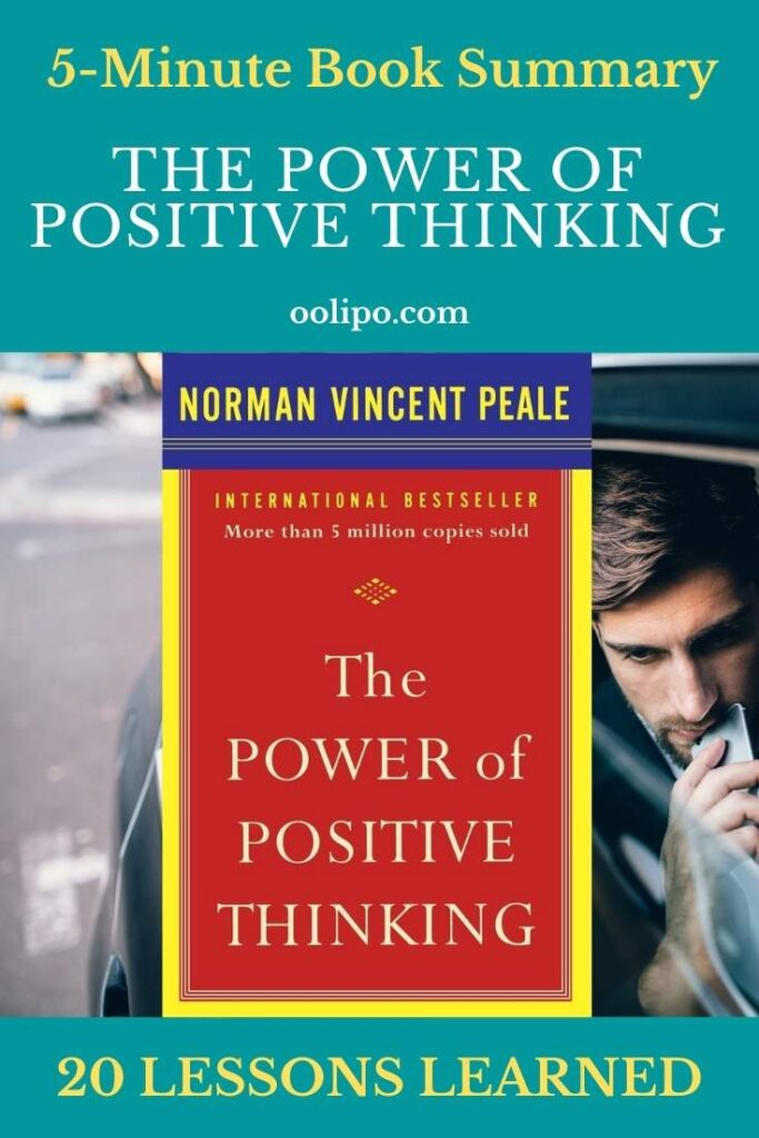 The Power of Positive Thinking Summary with PDF for Pinterest