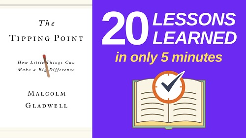 The Tipping Point Summary (5 Minutes): 20 Lessons Learned & PDF file