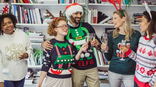 60 Ugly Christmas Sweater Party Invitation Wording Ideas